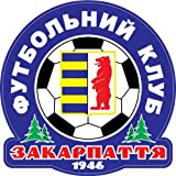 "Zakarpattya Uzhgorod FC Ukraine Soccer Football Car Bumper Sticker Decal 5"" x 5"""