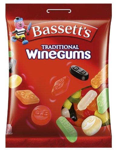 Bassett's Traditonal Winegums, 2er Pack (2 x 400 g)