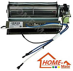 Home mate replacement fireplace fan blower for Electric furnace blower motor replacement
