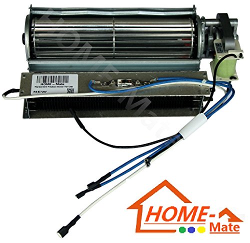 HOME-Mate Replacement Fireplace Fan Blower & Heating Element for Heat Surge Electric Fireplace image