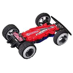 82335 Silverlit 3D Twister ferngesteuert 2.4GHz Rennwagen mit Schienenset ca. 4,6m Länge und Ersatzreifen, farblich sortiert