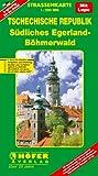 Höfer Straßenkarten, Tschechische Republik, Südliches Egerland-Böhmerwald