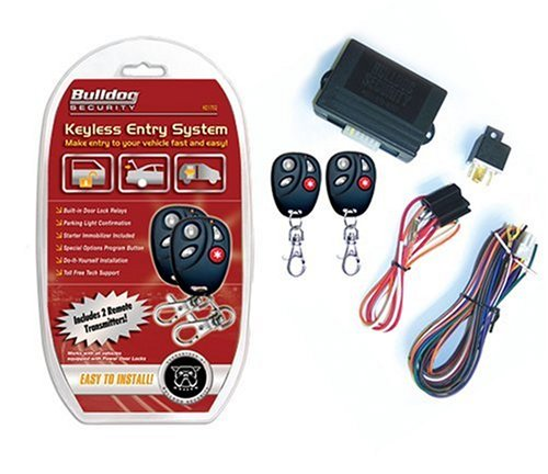 Bulldog KE1702 Vehicle Keyless Entry System