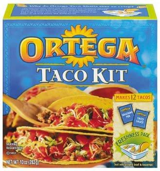 Ortega Taco Dinner Kit 10 oz