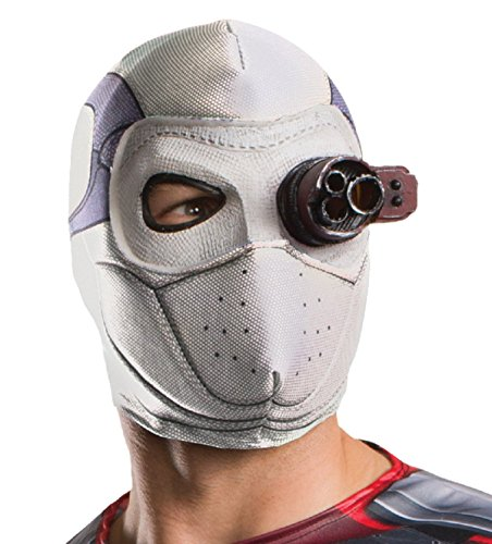[Deadshot Adult Mask Suicide Squad Movie DC Comics Halloween] (Baby Corn Bunting Costumes)
