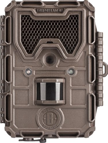 Bushnell 8Mp Trophy Cam Hd Led Trail Camera With Night Vision, Black