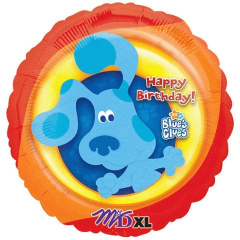 18 inch mylar birthday party Blues clues balloon - 1