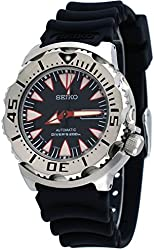 Seiko 2nd Generation Monster, Stainless Steel Case Black Dial Rubber Strap SRP313J1 (Made in Japan)