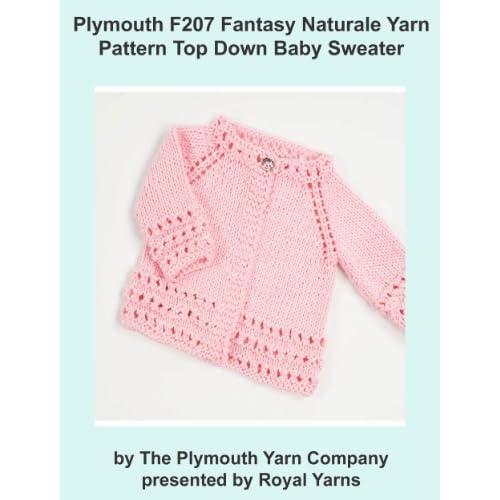 Image: Plymouth F207 Fantasy Naturale Yarn Pattern Top