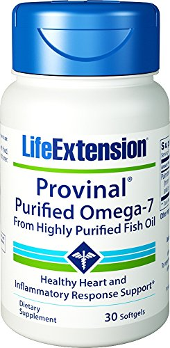Life Extension Provinal Purified Omega-7 Softgels, 30 Count (Omega 7 Supplement compare prices)