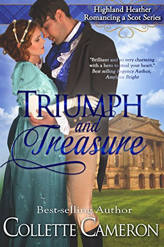 Angelina Ellsworth once believed in love–before she discovered her husband of mere hours was a slave-trader and already married.  When Angelina learns she is with child, she vows she'll never trust a man again…  Collette Cameron's award-winning historical romance Triumph And Treasure