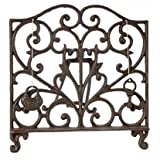 Cast Iron Cook Book Stand Display Easel
