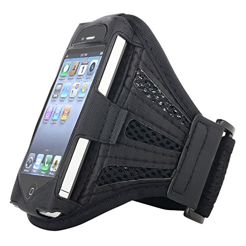 Insten Deluxe Armband for iPod touch (Black)