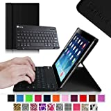 Fintie Blade X1 Keyboard Case for Apple iPad 4th Generation with Retina Display, iPad 3 & iPad 2 Ultra Slim SmartShell Stand Cover with Magnetically Detachable Wireless Bluetooth Keyboard - Black