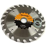 Circular Saw Blade (Tct) 160mm 24t 1pc X 6 Packs