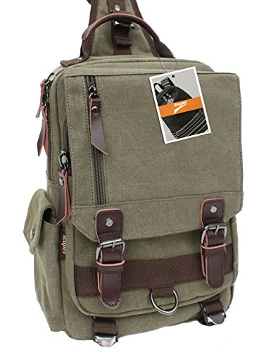 Leaper-Cross-Body-Messenger-Bag-Shoulder-Backpack-Travel-Rucksack-Sling-Bag