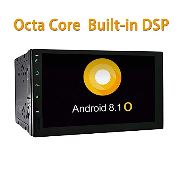 YODY Double Din Car Stereo Android 8 1 Octa Core 2GB RAM Built-in