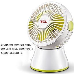 TOYM US- USB fan mini fan silent fan dormitory office desktop