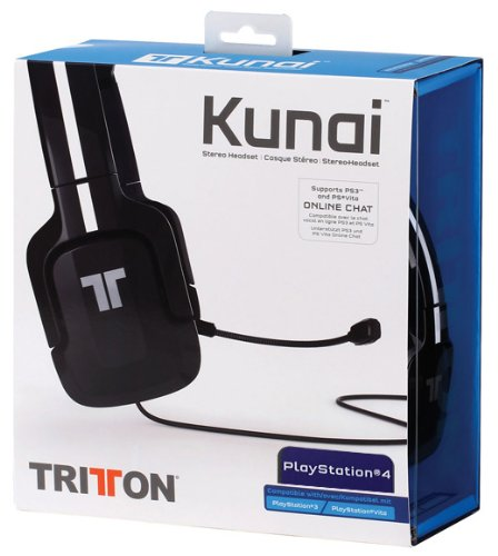 Tritton Kunai Stereo for PlayStation & PlayStation 3 & 4 Vita Wired Headset