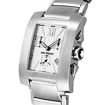 MONTBLANC watch PROFILE Silver dial 7134