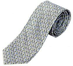 BLACKSMITHH Self Design Mens Tie