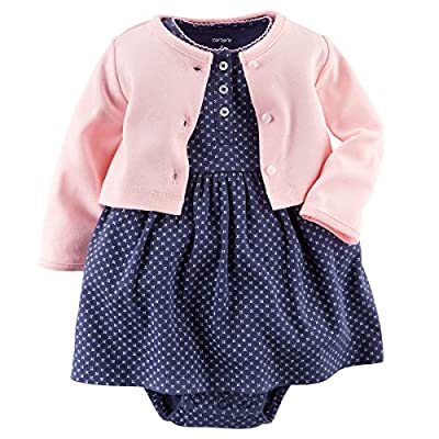 Carter's Baby Girls' 2 Piece Floral Dress Set (Baby) by Carters that we recomend personally.