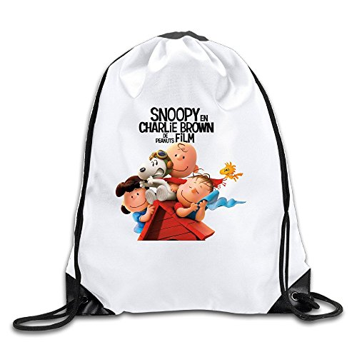 UNDERFASHION Snoopy And Charlie Brown The Peanuts Movie Sackpack Team Training Gymsack