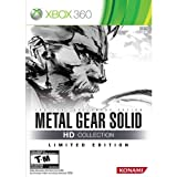Limited Edition Metal Gear Solid HD Collection XBOX 360