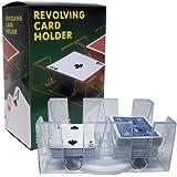 Brybelly 6-Deck Rotating/Revolving Card Tray