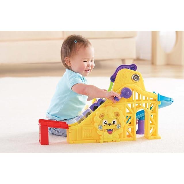 Fisher Price Little People Wheelies Roller Coaster Playset