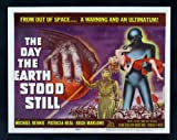THE DAY THE EARTH STOOD STILL* CINEMASTERPIECES VINTAGE ORIGINAL LOBBY CARD MOVIE POSTER 1951 SCI FI SCIENCE FICTION
