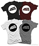 Womens Arctic Monkeys T-SHIRT Music Suck It And See AM