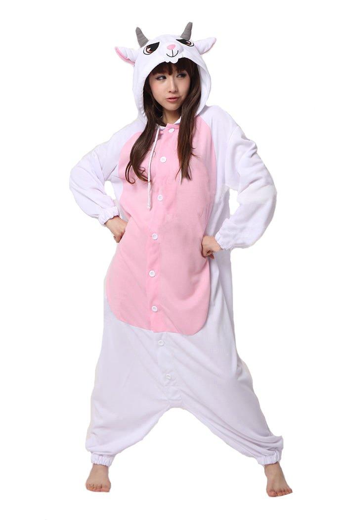 SAMGU Pajamas Anime Costume Adult Animal Onesie Goat Cosplay