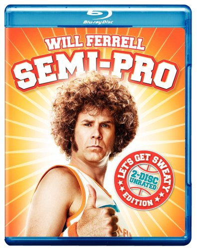 Cover art for  Semi-Pro (Let's Get Sweaty Edition) (2008) [Blu-ray]