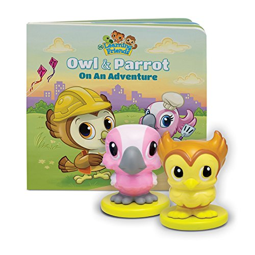LeapFrog Learning Friends Owl and Parrot Figures with Board Book