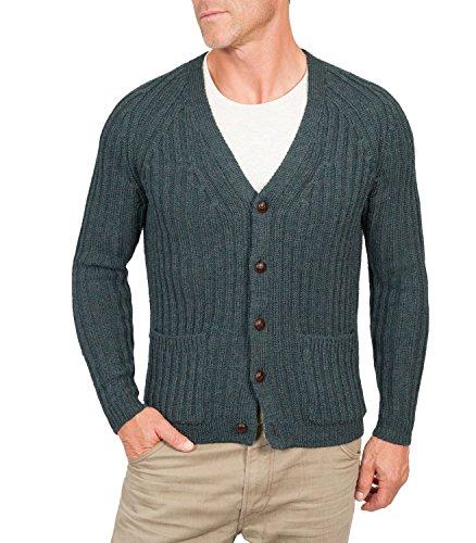 woolovers-gerippte-strickjacke-mit-v-kragen-fur-herren-schurwolle-f26-blaugrun-extra-large