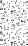 2019-2020: 2 Year Monthly Pocket Planner | Mini 4x6.5"