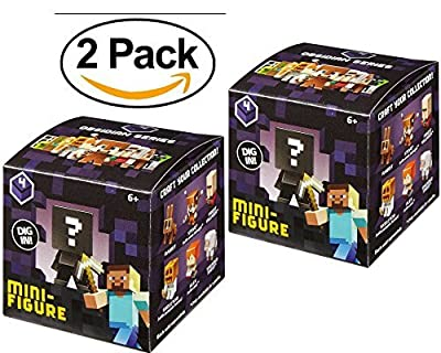 2 Pack Minecraft Mystery Minis Series 4 Figures