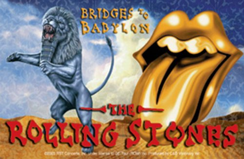 Licenses Products Rolling Stones Tongue and Lion Sticker