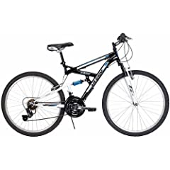 26 Huffy Rock Creek Mens Mountain Bike, Black by Huffy