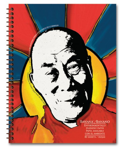 Image of Dalai Lama - Eco Friendly Journal