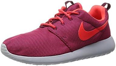 Nike Wmns Roshe One, Scarpe sportive, Donna, Rosso (Dp Garnet/Brght Crmsn-Pr Pltnm), 39