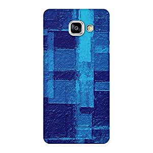Premier Blue Pattern Designer Back Case Cover for Galaxy A5 2016