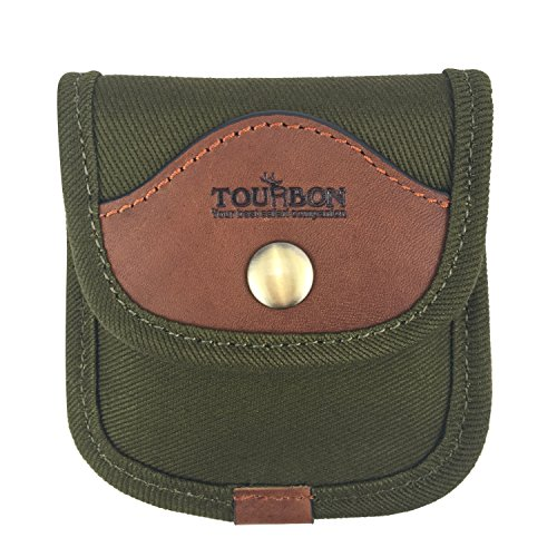 Tourbon Canvas Rifle Cartridge Holder 6 Shells 308 Win Ammo Wallet (9mm Bullet Belt compare prices)