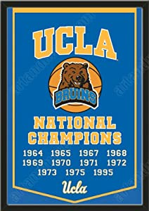 Dynasty Banner Of UCLA Bruins-Framed Awesome & Beautiful-Must For A Championship... by Art and More, Davenport, IA