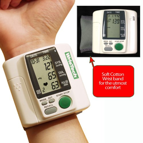 Image of BSS - Wristech Blood Pressure Monitor (B0088MUL9C)
