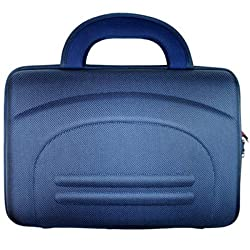 Kroo 11274 Cube Case For 10-Inch Portable Laptop (Blue)