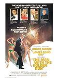 James Bond 60 x 80 cm the Man with the Golden Gun Canvas