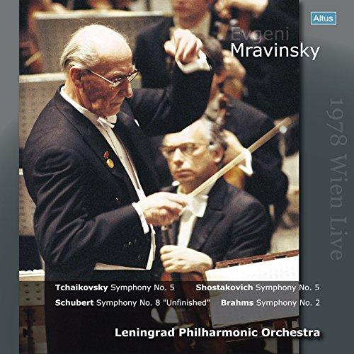 チャイコフスキー : 交響曲 第5番 | ショスタコーヴィチ : 交響曲 第5番 | シューベルト : 交響曲 第7(8)番 | ブラームス : 交響曲 第2番 (Tchaikovsky : Symphony No.5 | Shostakovich : Symphony No.5 | Schubert : Symphony No.8 ''Unfinished'' | Brahms : Symphony No.2 / Evgeni Mravinsky | Leningrad Philharmonic Orchestra) (1978 Wien Live) [4LP] [日本語解説付] [Limited Edition] [Analog]