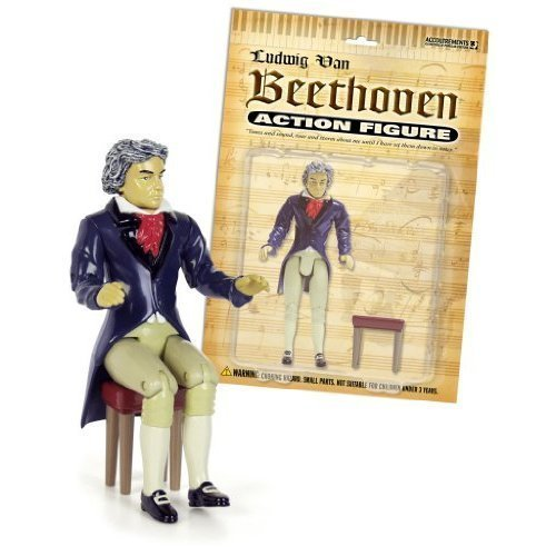 Accoutrements Beethoven Action Figure by Accoutrements (Beethoven Action Figure compare prices)